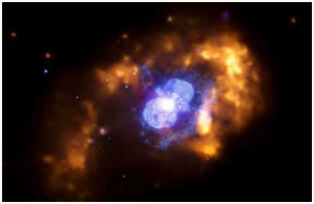 CHANDRA Image : Eta Carinae