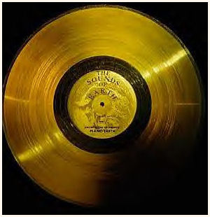 """The Sounds of Earth"" Golden Record : Obverse : Label"