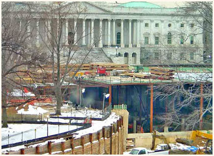 Washington DC : Excavation