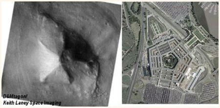 Washington DC : Mars Cydonia