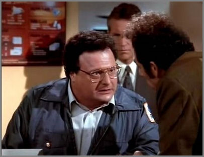 At the Post Office : Newman Investigates Jerry