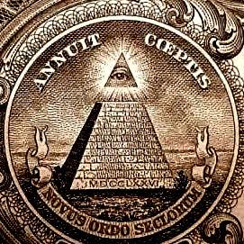 All-Seeing Eye : US 1 Dollar Bill