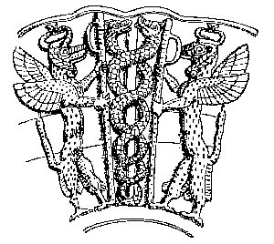 Caduceus : Illustration of Ancient Caduceus
