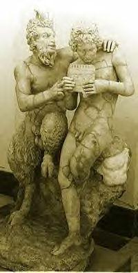 Chimera : Statue