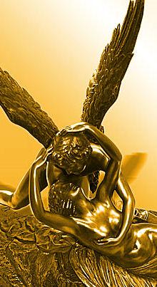 Cupid and Psyche : Antonio Canova