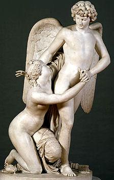 Cupid and Psyche : Johan Tobias Sergel