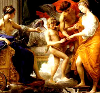 Marriage of Cupid and Psyche : Pompeo Girolamo Batoni