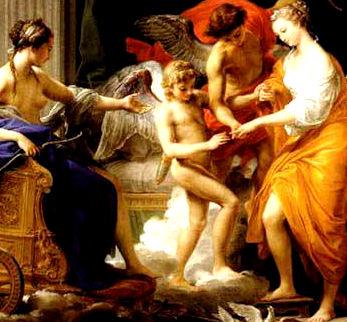 Marriage of Cupid and Psyche : Pompeo Girolamo Batoni