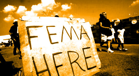 FEMA HERE : Colorized LIFE Image