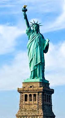 Goddess With Torch : Statue of Liberty