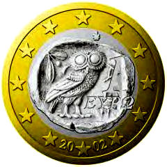 Owls : 2002 Euro with Owl