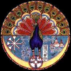 Peacock : Symbolic Depiction