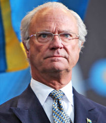 King Carl XVI Sweden