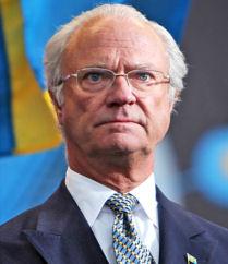 King Carl XVI Sweden