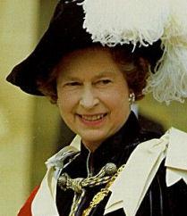 Queen Elizabeth II UK