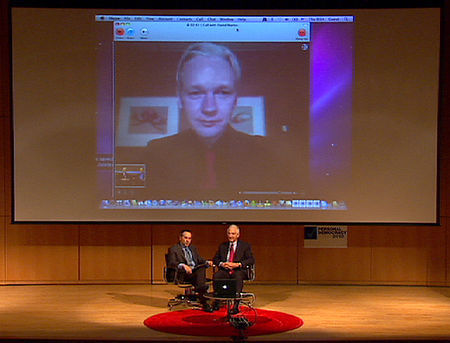 Julian Assange on the Big Screen