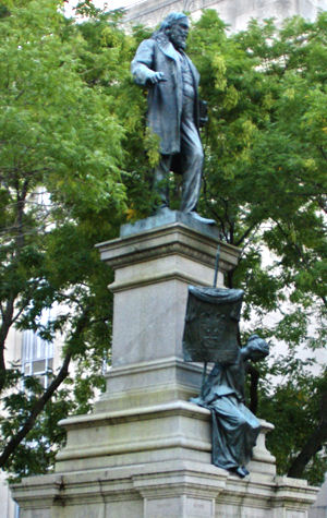 Albert Pike statue Washington DC