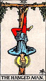 """Hanged Man"" Tarot Card"