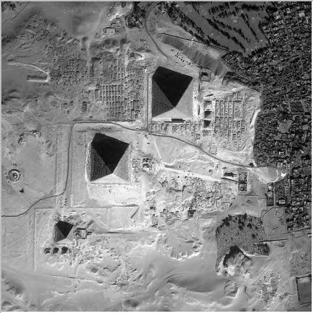Pyramids Aerial View