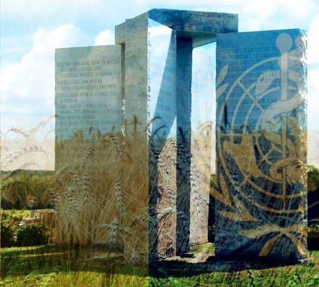 Georgia Guidestones NWO Depopulation Agenda 21 UN