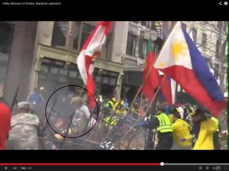 this is how the flags came down.  CBHM was right there when they were pulled over
